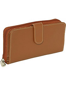 Ladies Multi-Compartment Wallet by Piel