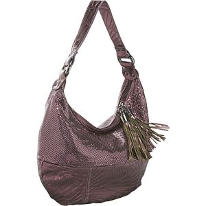 Fan Leather Hobo