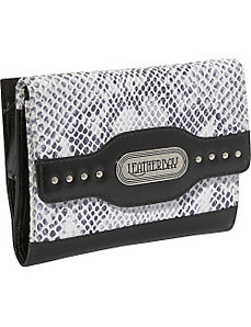 Italian Leather Clutch Wallet by Leatherbay