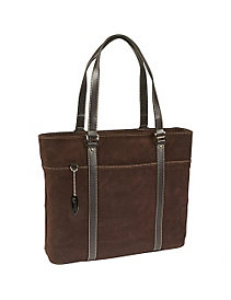 Suede Computer Tote by Mobile Edge