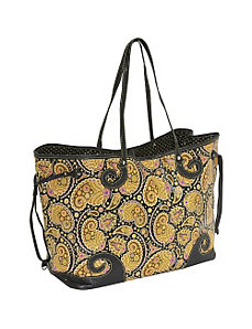 Paisley Drawstring Tote by Sydney Love