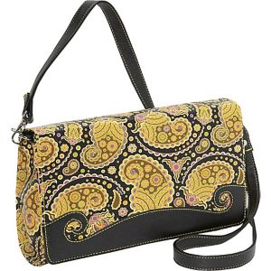 Paisley Convertible Cross Body Clutch