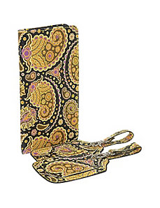 Paisley Print Passport Case and Luggage Tags by Sydney Love