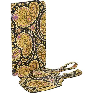 Paisley Print Passport Case and Luggage Tags