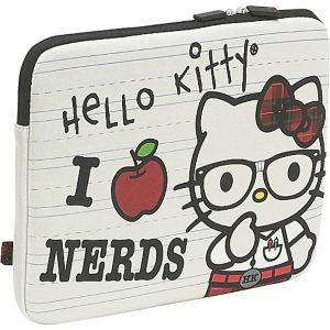 Hello Kitty 'I Love Nerds' Laptop Sleeve
