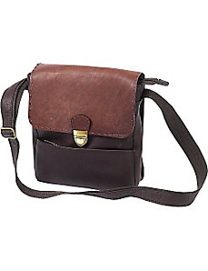 Large Two-Toned Man Bag by ClaireChase