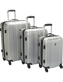 Cambridge 3 Piece Hardshell Spinner Set by Traveler's Choice
