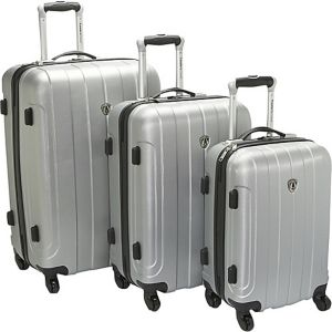 Cambridge 3 Piece Hardshell Spinner Set