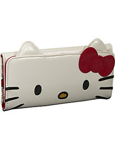 Hello Kitty Face Wallet With Ears by Loungefly