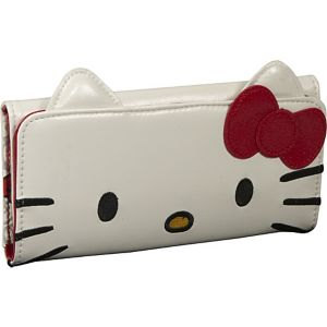 Hello Kitty Face Wallet With Ears