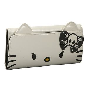 Hello Kitty Angry Face Wallet With Ears