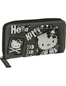 Hello Kitty Angry Kitty Wallet by Loungefly
