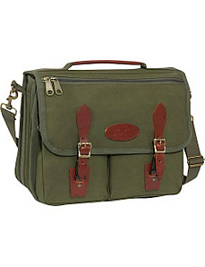 Canvas Briefcase by Boyt Harness
