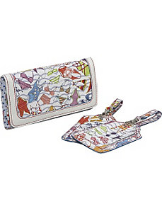 Sunny Days Wallet and Luggage Tag w/ Gift Box by Sydney Love