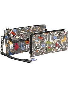 3 Zip Around Wristlet & Wallet by Sydney Love