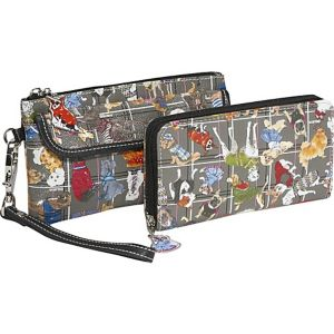 3 Zip Around Wristlet & Wallet