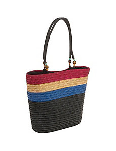 Milan Straw Aruba Tote by Magid