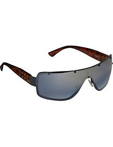 Back-Frame Shield Sunglasses by Rocawear Sunwear