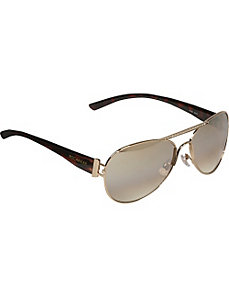Stone Embellished Aviator Sunglasses by Rocawear Sunwear