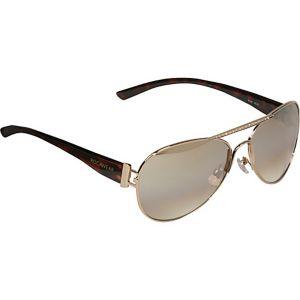 Stone Embellished Aviator Sunglasses