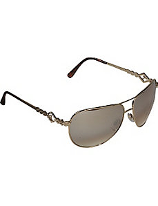 Textured Aviator Sunglasses by Rocawear Sunwear