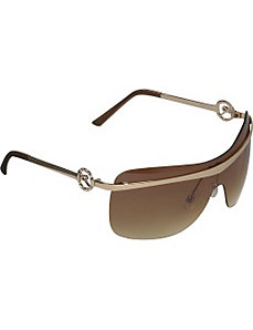 Rimless Shield Sunglasses by Rocawear Sunwear