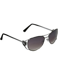 Heart Aviator Sunglasses by Rocawear Sunwear
