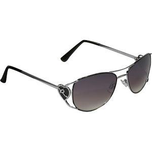 Heart Aviator Sunglasses