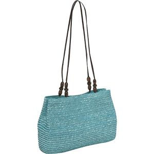 Milan Straw EW Shoulder Bag