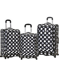 3 Piece Monte Carlo Spinner Luggage Set by Rockland Luggage