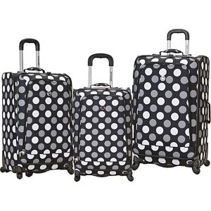 3 Piece Monte Carlo Spinner Luggage Set