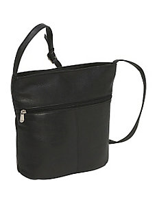 Bucket Shoulder Bag by Le Donne Leather