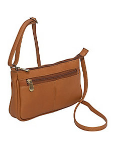 Top Zip Mini Cross Body by Le Donne Leather