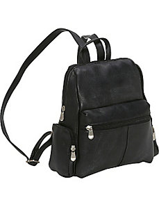 Zip Around Backpack/Purse by Le Donne Leather