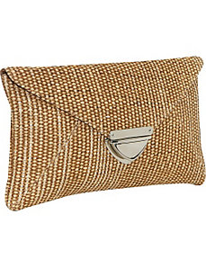 Straw clutch by Earth Axxessories