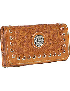 Harvest Moon - Tri-Fold Wallet by American West