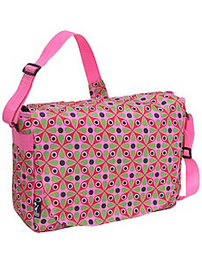 Kaleidoscope Laptop Messenger Bag by Wildkin