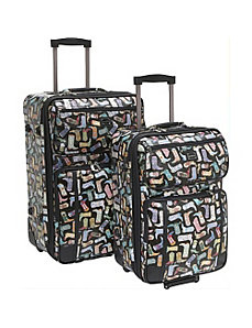Kickin' It-2pc Luggage Set by Sydney Love
