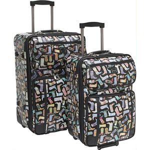 Kickin' It-2pc Luggage Set