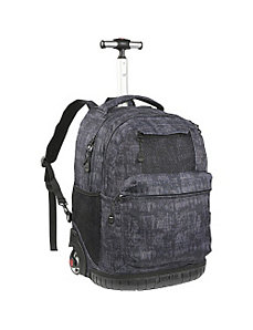 Overhill Laptop Rolling Backpack by J World