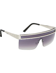 Fashion Semi-Rimless Celebrity Sunglasses by SW Global Sunglasses