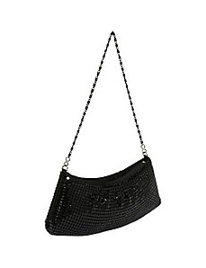 Metal Mesh Shoulder Bag by Savanna