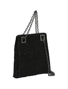 Ball Mesh Square Shoulder Bag by Savanna