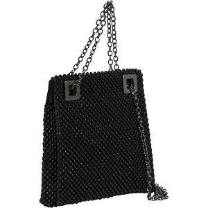 Ball Mesh Square Shoulder Bag