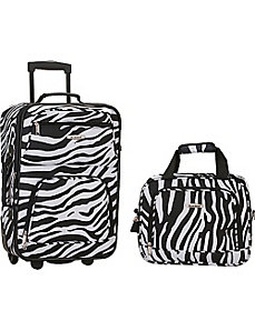 Rio 2 Piece Carry On Luggage Set by Rockland Luggage