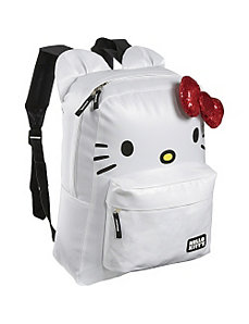 Hello Kitty White Backpack with Ears by Loungefly
