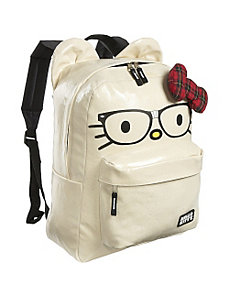 Hello Kitty Nerds Backpack with Ears by Loungefly