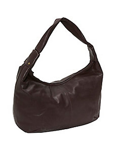 Large top zip hobo by Derek Alexander