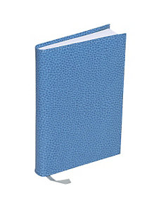 Pebble Grain Leather Medium Bound Address Book by Budd Leather