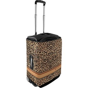 Small Luggage Cover - Brown Leopard